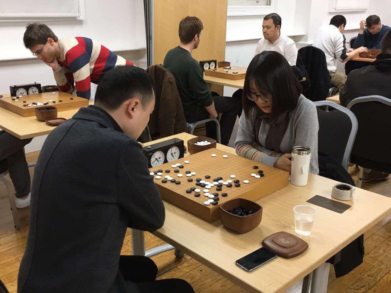 伦敦围棋大会如火如荼(更多照片更新)