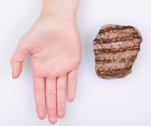 指的是牛肉、羊肉、猪肉等红肉。