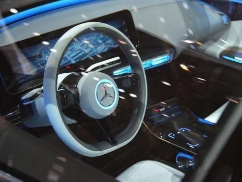 广州车展—满满的科技感 奔驰EQ概念车将于广州车展亮相