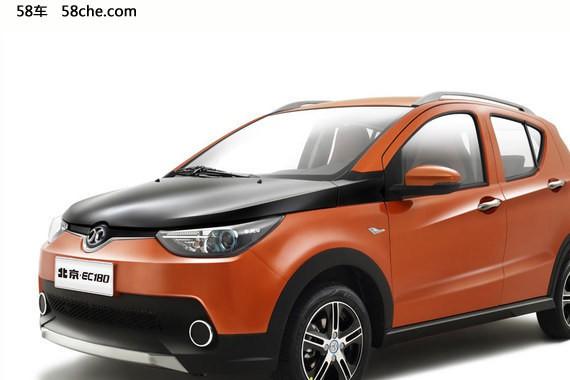 北汽新能源EC180即将上市 推出两款车型