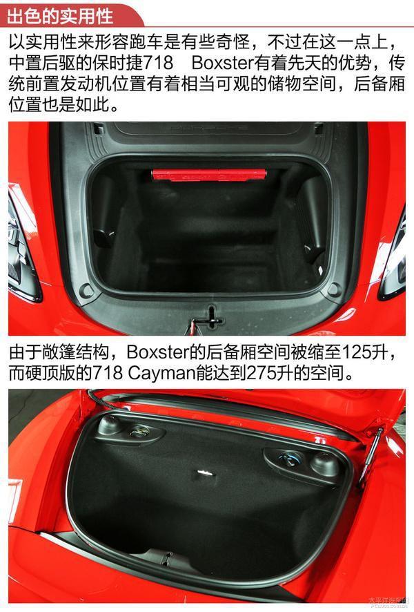 测试保时捷718 Boxster S:继承纯正赛车血统