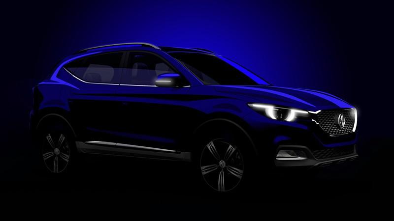 MG全新SUV名爵ZS广州车展首发