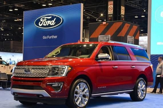 2017芝加哥车展:福特全新征服者首发