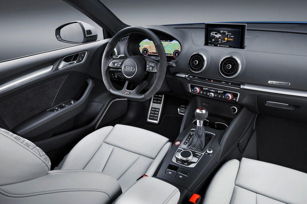 换完发动机的奥迪RS3Sportback比奔驰AMG A45更快