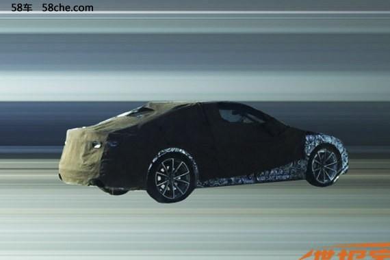 奥迪新RS 5国内谍照首曝 年内正式发布