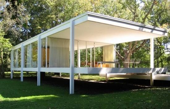 现代极简风格别墅外观