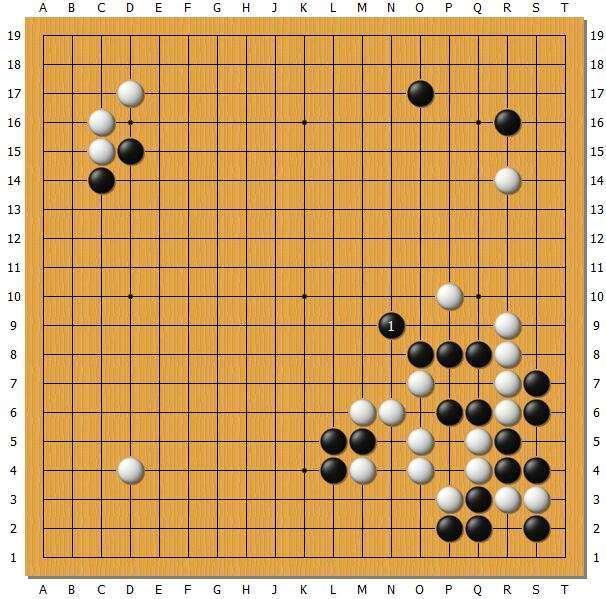 职业棋士胡跃峰多图详解中国围棋名人战决胜局