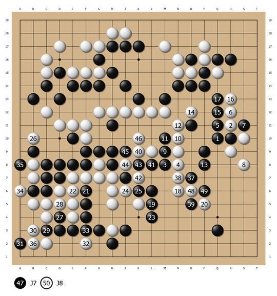 钱宇平名局系列2 渐成大器 中日围棋决战力擒山城宏