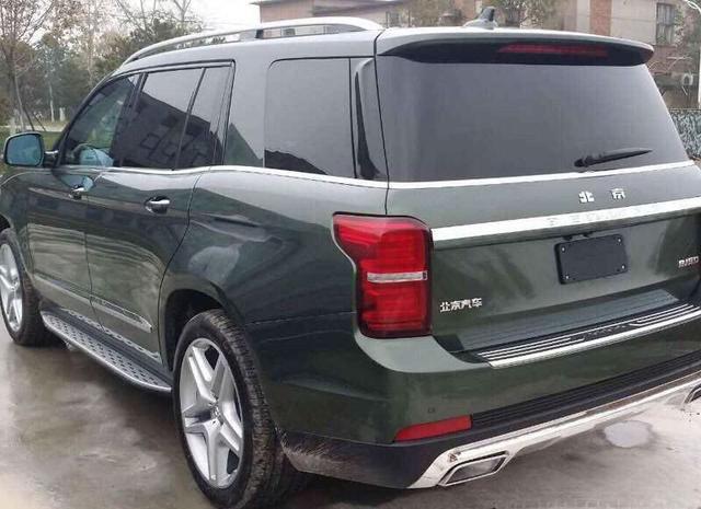 中国首款大型SUV要上市,奔驰底盘还带V8发动机