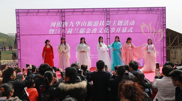 河南西九华山2017荷兰郁金香文化节隆重开幕