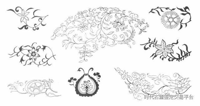 明代瓷器上常见的纹饰、你认识几个?