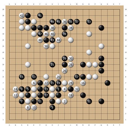 大豪木谷名局1 与吴清源共演经典新布局