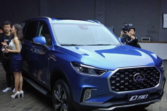 新晋中国品牌硬派SUV 上汽大通D90首发
