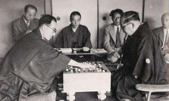大豪木谷实名局系列4 与巅峰期的高川决斗于棋界之巅