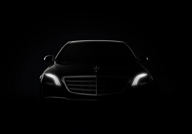 公布内装照 小改款奔驰S-Class预约上海车展发表