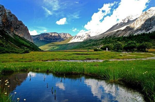 看山看水看四川 爱山爱水爱四川
