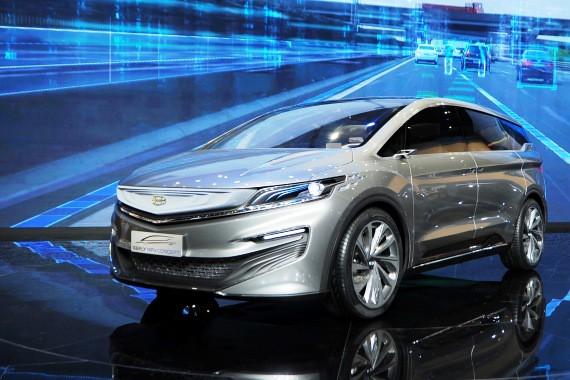 吉利MPV概念车上海车展首发 揭示品牌战略