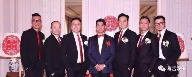 郭富城结婚这位伴郎不简单 香港四大天王都叫他老师