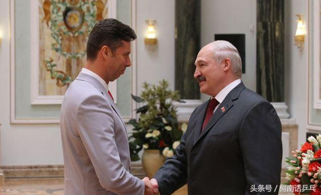 41岁乒坛名宿萨姆索诺夫获颁国家荣誉勋章