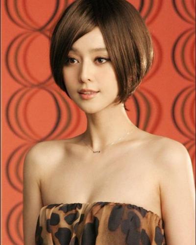 范冰冰终于选对发型,跟泰国当红花旦同框,看谁赢?