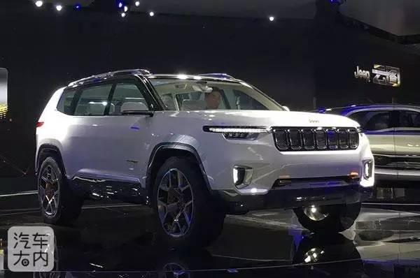 七座自由光?Jeep全新国产SUV曝光