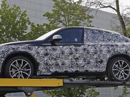 新一代轿跑SUV宝马X4谍照曝光,预计2018年上市