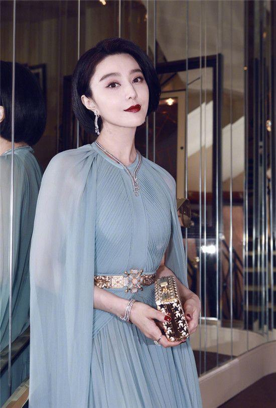 范冰冰领衔平胸戛纳?放弃胸战的中国女星拿什么赢?