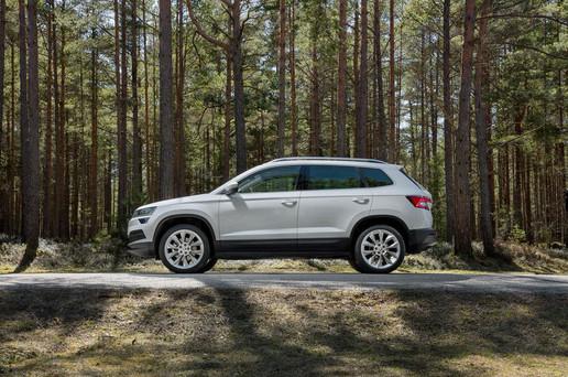 全新紧凑型SUV,斯柯达KAROQ全球首发