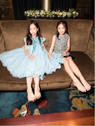刘涛女儿竟和高晓松女儿是闺中密友,小姐妹颜值太高