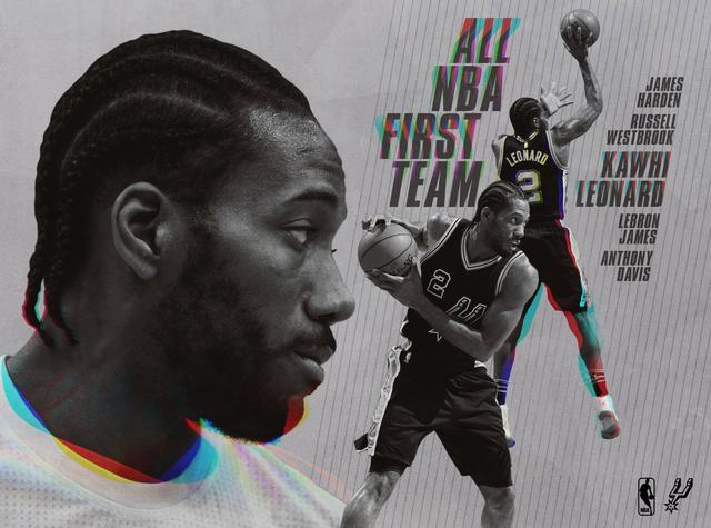 伦纳德进一阵成NBA历史第三人 前两人都曾效力火箭