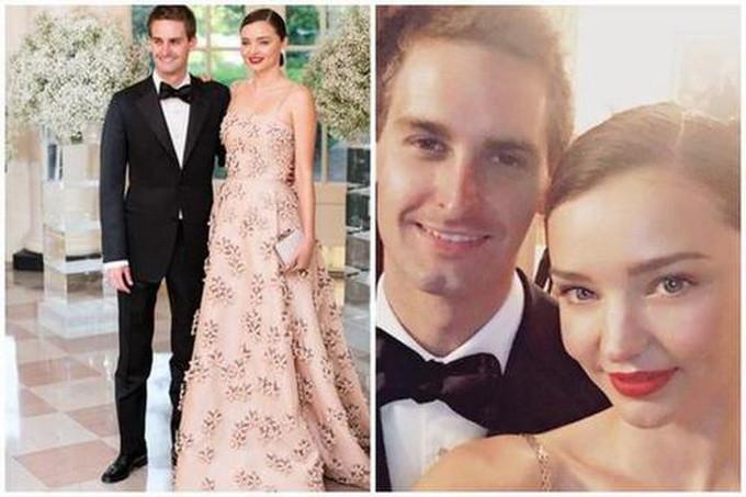 米兰达可儿结婚 男方创立Snapchat身家高达21亿美元