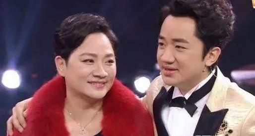 王祖蓝和妈妈