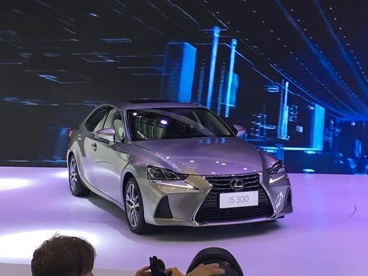 新款雷克萨斯IS车型正式上市 售32.49万起