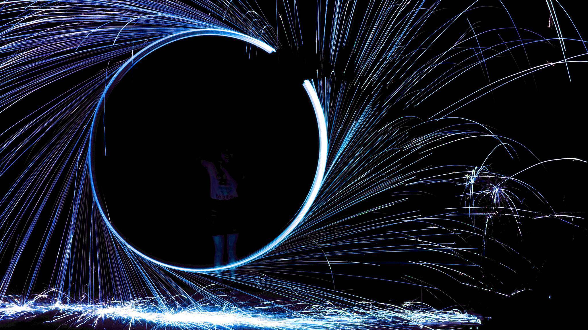 努比亚Z17mini光绘拍摄作品之一