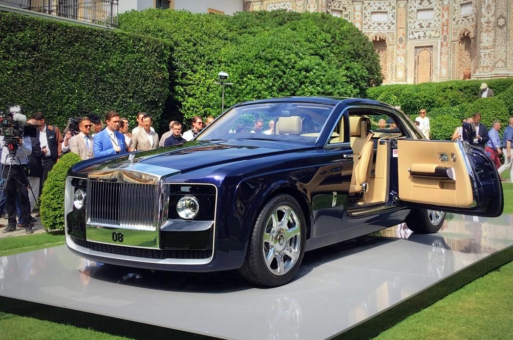 这辆劳斯莱斯老总都说贵的车 就算有钱也买不到
