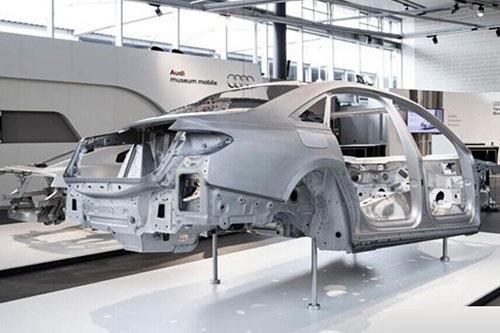新一代奥迪A8车架
