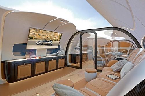 不再是高端车的专利!飞机也将搭载全景天窗