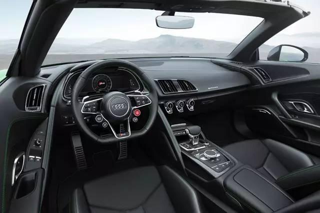 奥迪终极敞篷猛兽,610匹马力R8 Spyder V10 Plus现身!