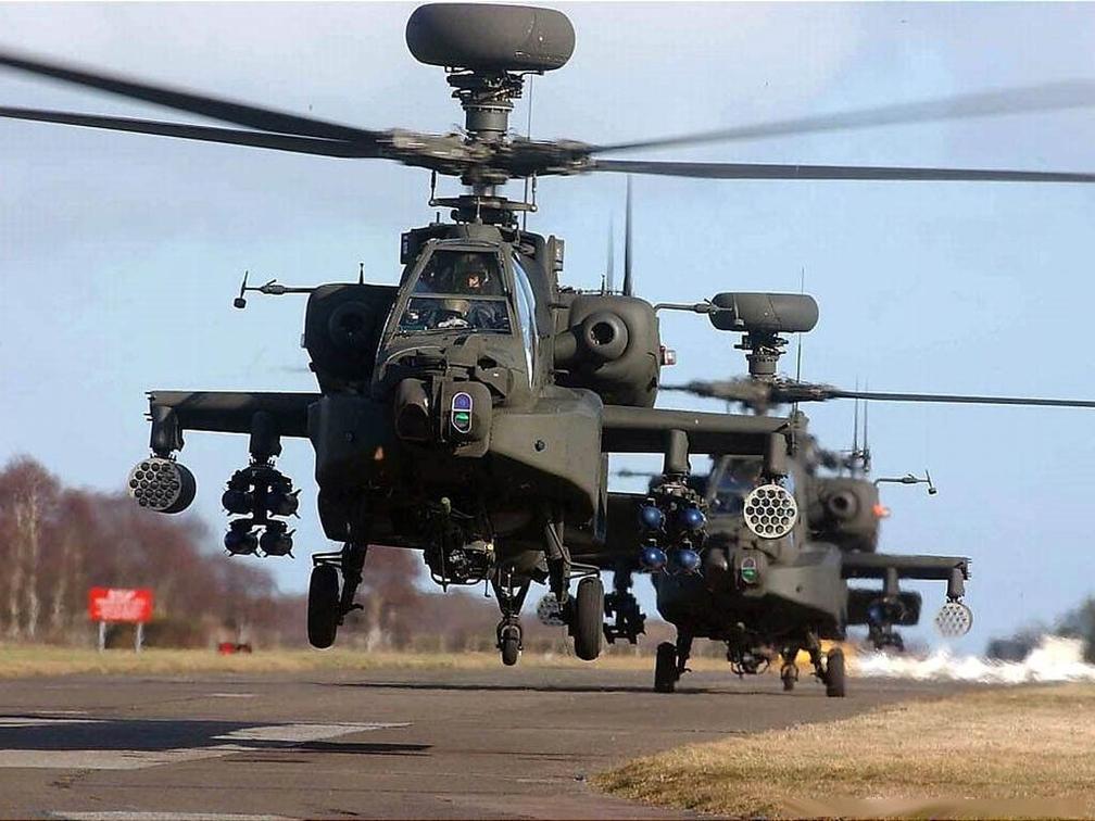 武直487架 火炮360门 兵力2万 战力超英国陆军航空兵