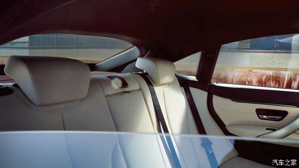 BMW 4系四门轿跑车 动感舒适 优雅纵行
