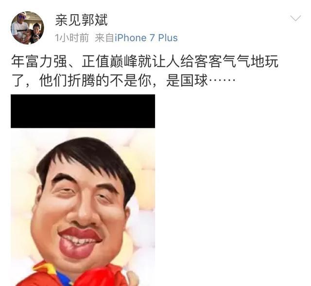 王楠老公:正值巅峰的刘国梁被客客气气地玩了!
