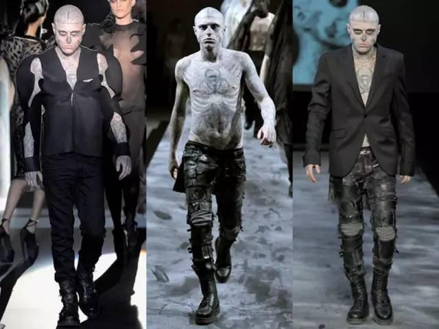 加拿大僵尸男孩:挑战你的视觉神经 时尚还是恐怖?