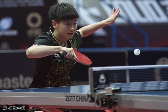 从模仿平野的陪练到击败刘诗雯 日媒称她