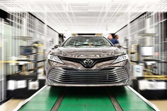 新一代丰田凯美瑞美国下线 等年底国产