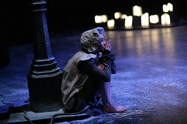 魔幻儿童舞剧《卖火柴的小女孩》,悲伤的童话有了温暖的结局