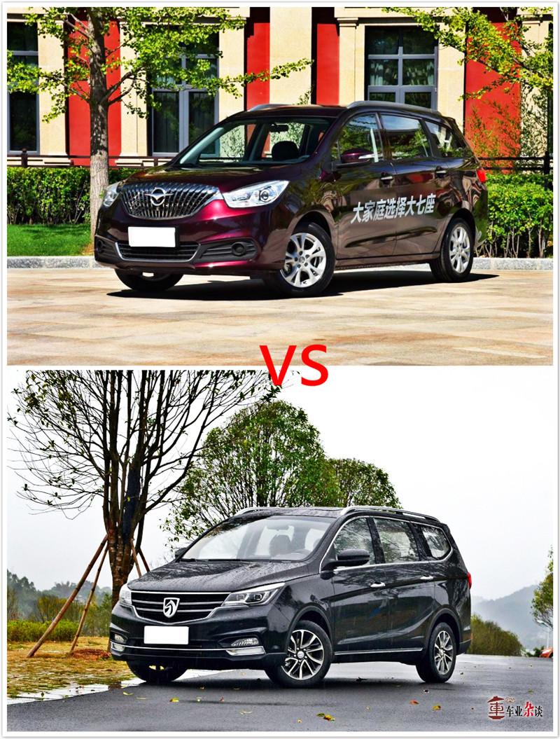 同为七座车,定位不一样,平台不一样,品质当然不一样啦!