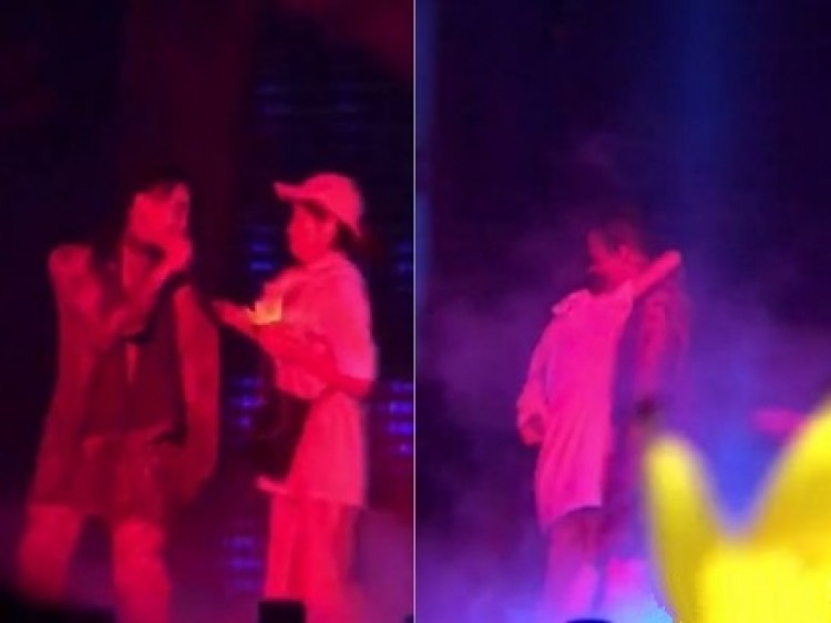 权志龙演唱会意外摔下升降台,同样的事故以前也险些发生!