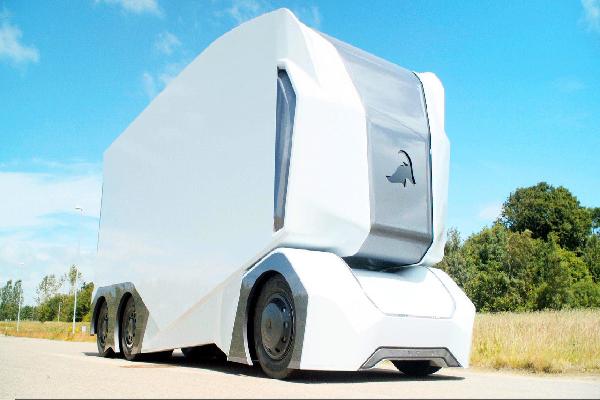 瑞典推出自动驾驶电动货车,无驾驶室设计