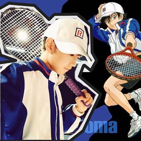 王俊凯马术cos《你的国际》,可是他明明长着一张《网球王子》的脸啊实力名字赛事图片
