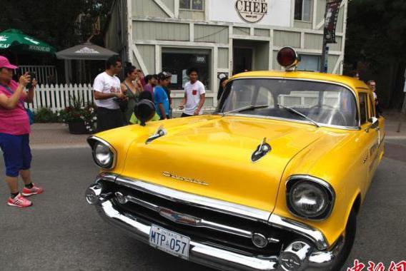 多伦多举行豪车展:近百辆超级跑车齐聚街区